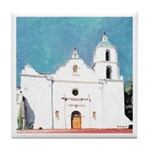 Mission San Luis Rey de Francia Tile Coaster