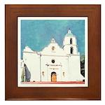 Mission San Luis Rey de Francia Framed Tile