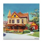 Christian House Victorian Tile Coaster