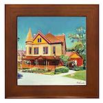 Christian House Victorian Framed Tile