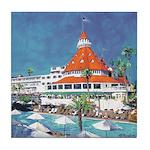 Poolside del Coronado Tile Coaster