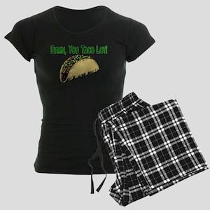 Taco Lot Women's Dark Pajamas
