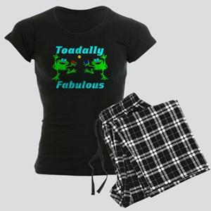 Toadally Fabulous Women's Dark Pajamas