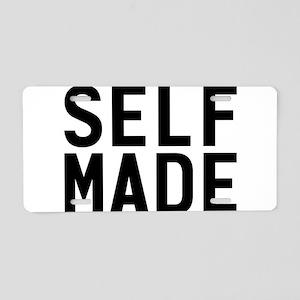 Self Made Aluminum License Plate