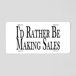 Rather Make Sales Aluminum License Plate