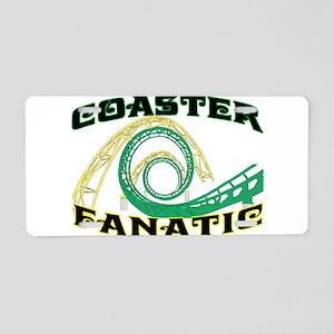 Coaster Fanatic Aluminum License Plate