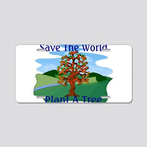 Plant A Tree Aluminum License Plate