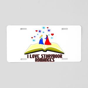 Storybook Romances Aluminum License Plate