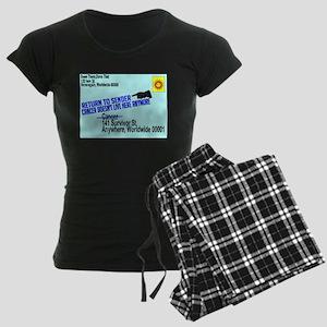 Cancer No More Women's Dark Pajamas