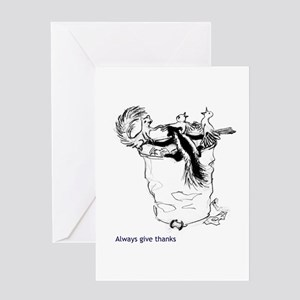 Always Give Thanks Greeting Card