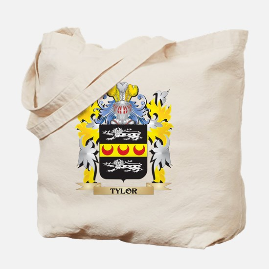 Tylor Family Crest - Coat of Arms Tote Bag