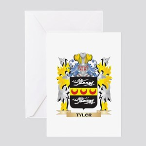 Tylor Family Crest - Coat of Arms Greeting Cards