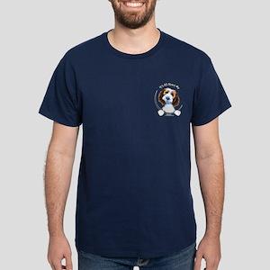 PBGV IAAM Pocket Dark T-Shirt