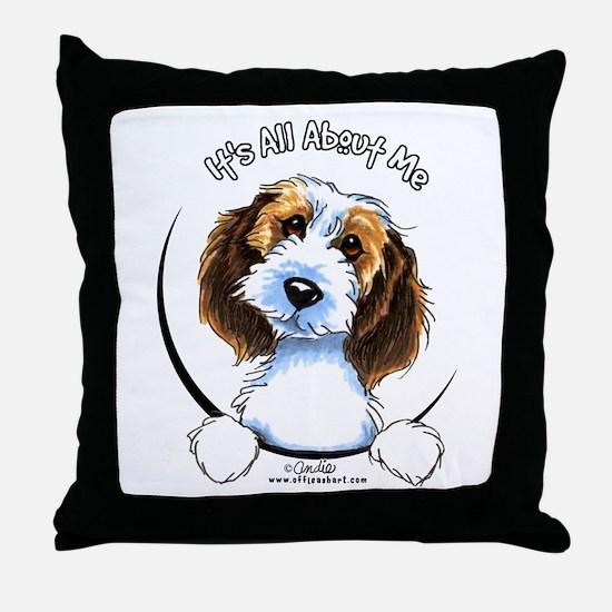Petit Basset Griffon Vendeen IAAM Throw Pillow