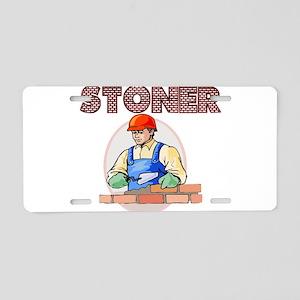 Stoner Aluminum License Plate