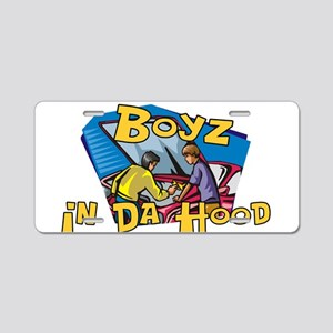 Boyz In Da Hood Aluminum License Plate