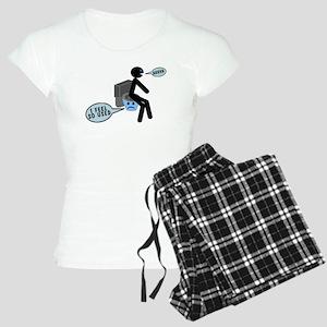 Used Toilet Women's Light Pajamas