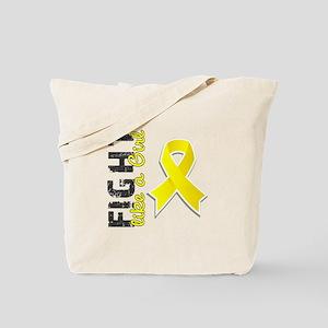 Licensed Fight Like A Girl 28.8 Endometri Tote Bag