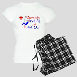 Dentists Drill Women's Light Pajamas