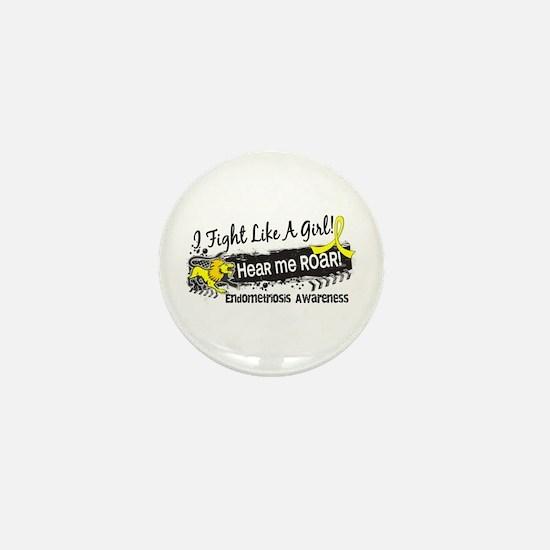 Licensed Fight Like A Girl 19.1 Endome Mini Button