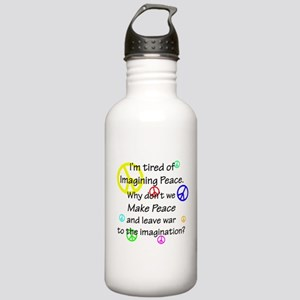 Make Peace/Imagine War Stainless Water Bottle 1.0L