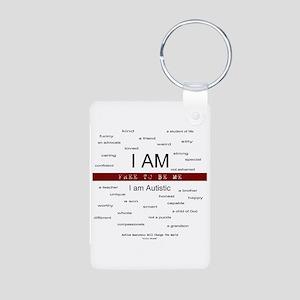 Free To be Me - I am so many Aluminum Photo Keycha