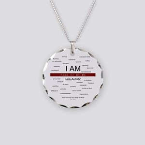 Free To be Me - I am so many Necklace Circle Charm