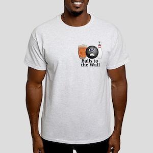Balls To The Wall Logo 10 Light T-Shirt Design Fro