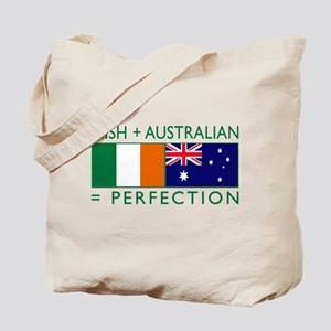 Irish Australian flags Tote Bag