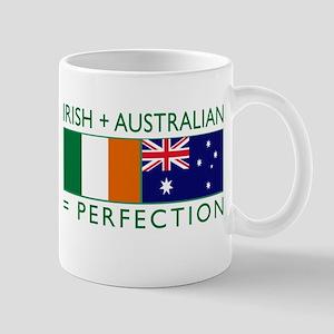 Irish Australian flags Mug