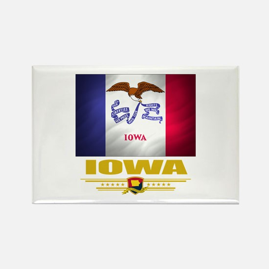 Iowa Pride Rectangle Magnet