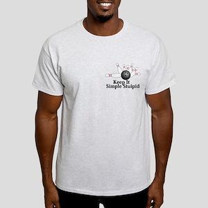 Keep It Simple Stupid Logo 2 Light T-Shirt Design