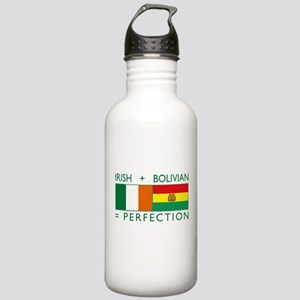 Irish Bolivian flags Stainless Water Bottle 1.0L