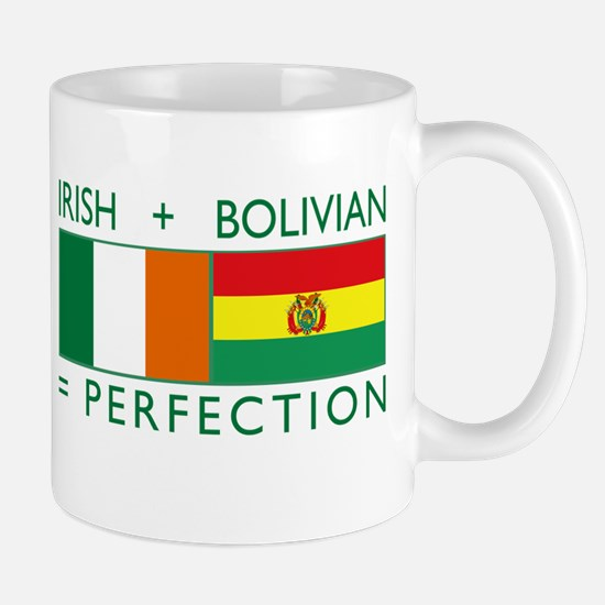 Irish Bolivian flags Mug