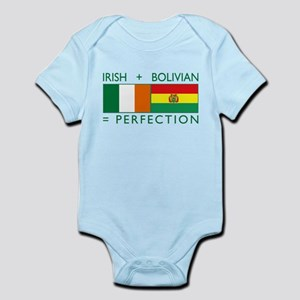 Irish Bolivian flags Infant Bodysuit