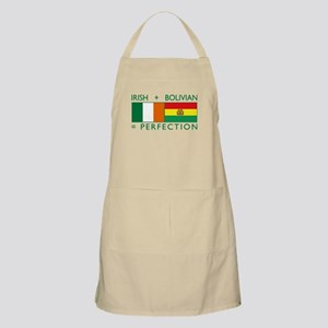 Irish Bolivian flags Apron