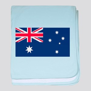 Australian Flag Baby Blanket