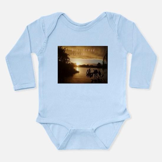Grey nomad Long Sleeve Infant Bodysuit