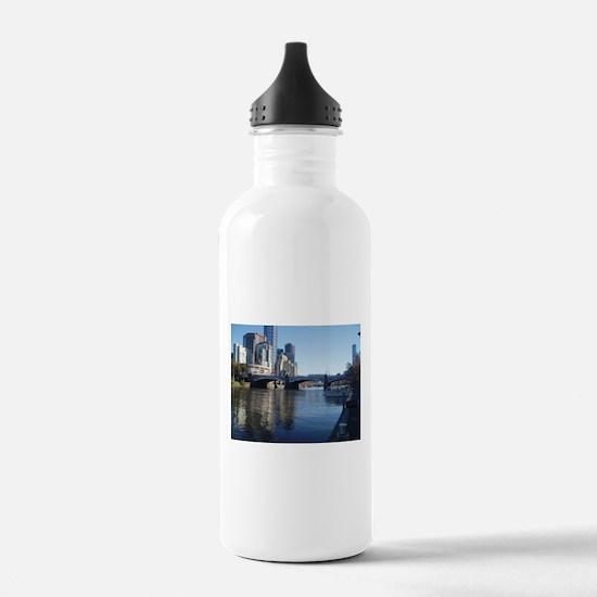 Melbourne Yarra River Sports Water Bottle