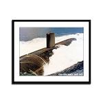 USS COLUMBUS Framed Panel Print