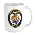 USS COLUMBUS Large Mug