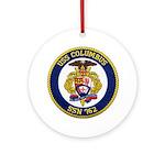 USS COLUMBUS Ornament (Round)