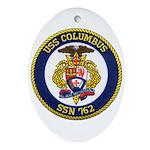 USS COLUMBUS Ornament (Oval)