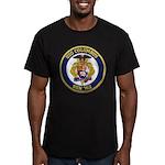 USS COLUMBUS Men's Fitted T-Shirt (dark)