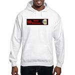 10 drink minimum Hooded Sweatshirt