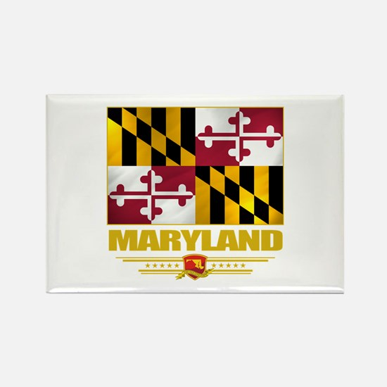 Maryland Pride Rectangle Magnet