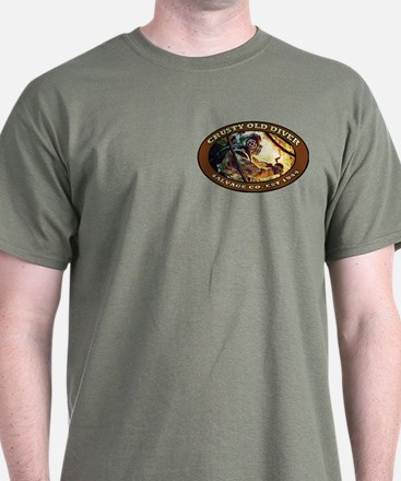 CRUSTY OLD DIVER SALVAGE CO. T-Shirt