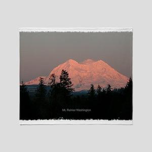 Majestic Mountains Throw Blanket