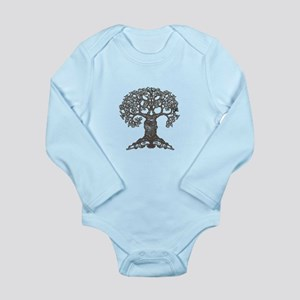 The Reading Tree Long Sleeve Infant Bodysuit