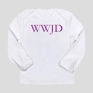WWJD 2 Long Sleeve Infant T-Shirt